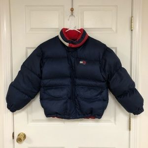 Vintage Tommy Hilfiger Pufffer Down Jacket